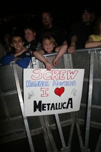 Screw Hanna Montana - I Love Metallica